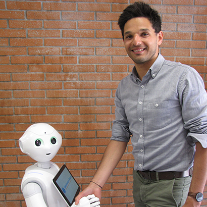 Davis Sales Pepper robot