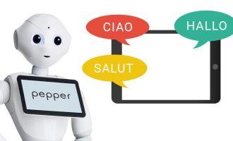 Additional language Pepper robot