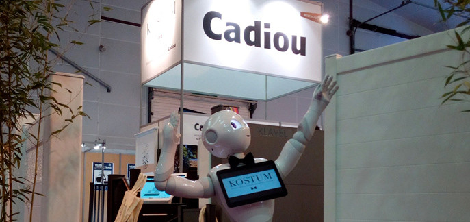 Cadiou robot Pepper Génération Robots