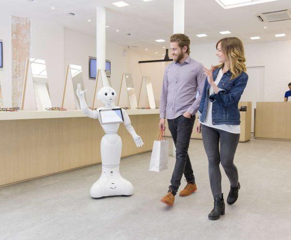 Pepper robot shop