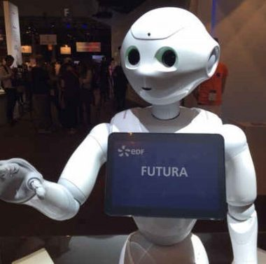 Pepper robot Vivatech EDF