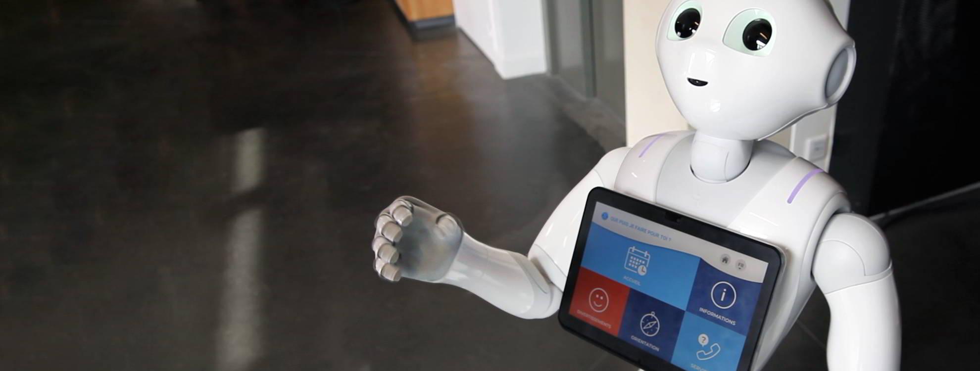 SMART Pepper App by Génération Robots